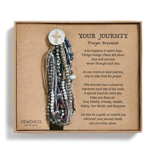 My Journey Bracelet Gray