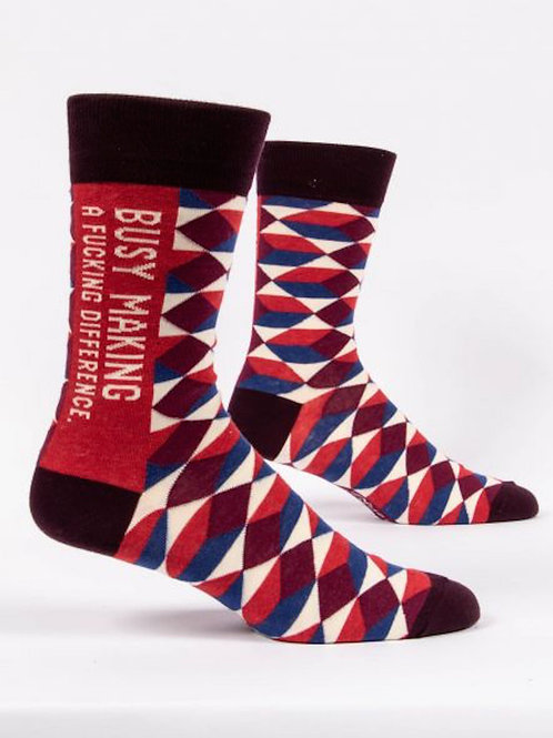 Making a Difference Socks