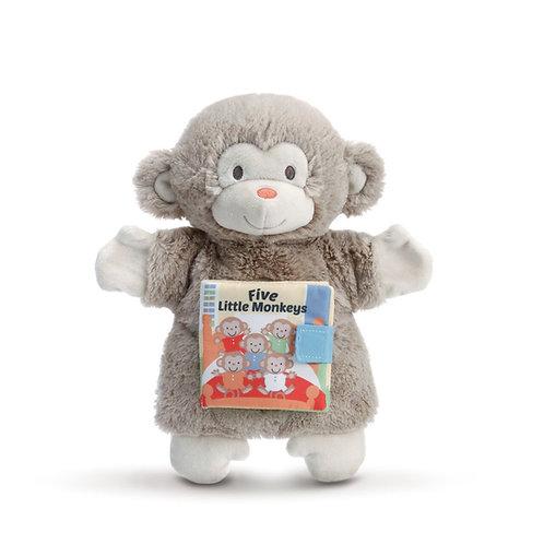 5 Little Monkeys Puppet Book