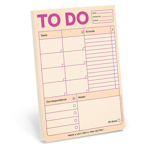 To Do Pad