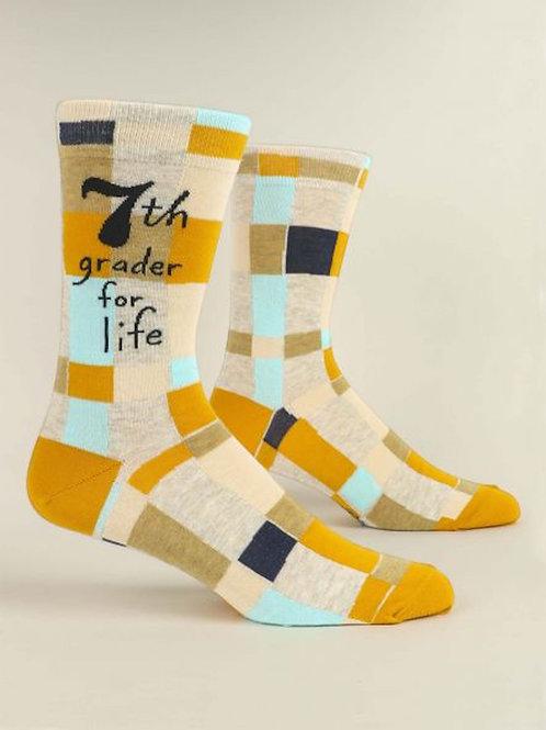7th Grader for Life Socks