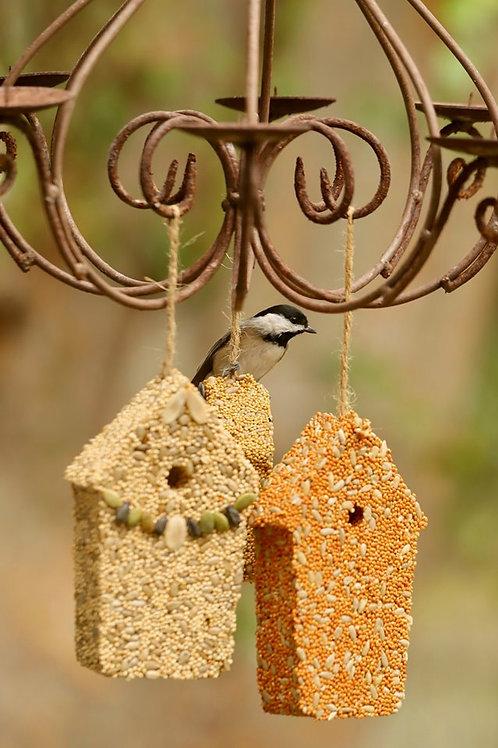 Home Tweet Home Bird Seed Ornaments