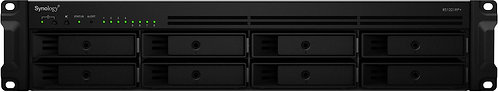 Synology RS1221RP+ 32TB (8x4TB) + eSATA-Port, redundate Netzteile