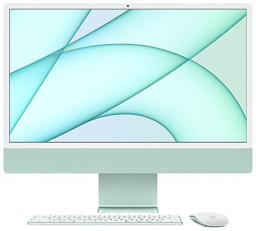 """iMac 24"""" 8GB, Apple M1 8-Core CPU & 8-Core GPU, 256 GB, Grün"""