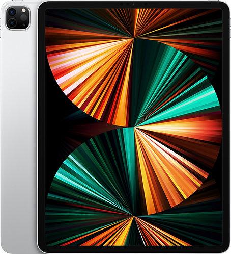 "iPad Pro 12.9"" Wi-Fi & Cellular (2021), 5. Gen, Silber"