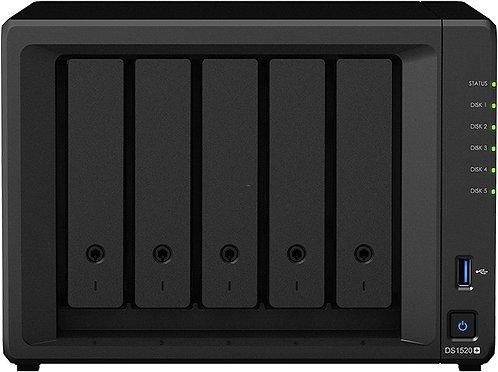 Synology DS1520+ 20TB (5x4TB) + eSATA-Port