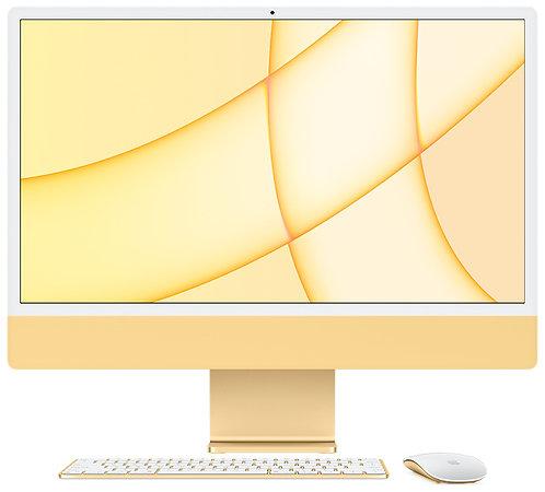"""iMac 24"""" 8GB, Apple M1 8-Core CPU & 8-Core GPU, 256 GB, Gelb"""