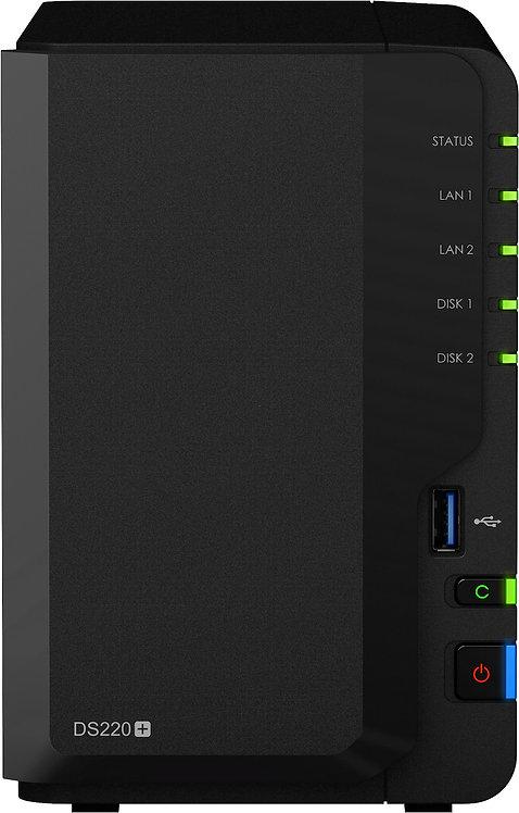 Synology DS220+ 4TB (2x2TB)