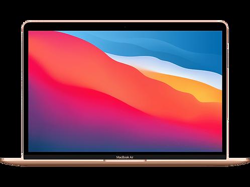 """MacBook Air 13"""" 8GB, Apple M1 8-Core CPU & 8-Core GPU, 512 GB, Gold"""