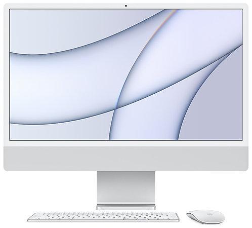 """iMac 24"""" 8GB, Apple M1 8-Core CPU & 7-Core GPU, 256 GB, Silber"""