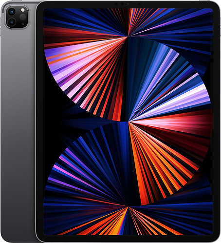 "iPad Pro 12.9"" Wi-Fi & Cellular (2021), 5. Gen, Space Grau"