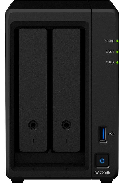 Synology DS720+ 4TB (2x2TB) + eSATA-Port