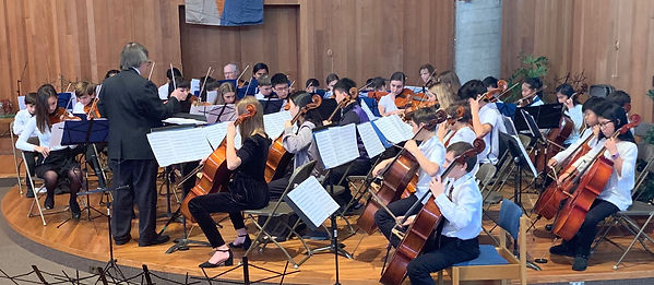 YPCO chamber orchestra
