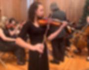 YPCO violin solo