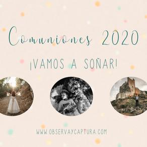 FOTOGRAFÍA DE COMUNIÓN 2020