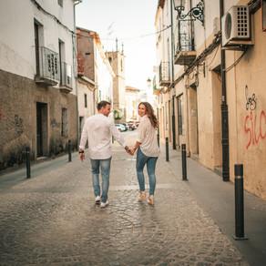 María y Alberto, preboda en Moraleja | preboda