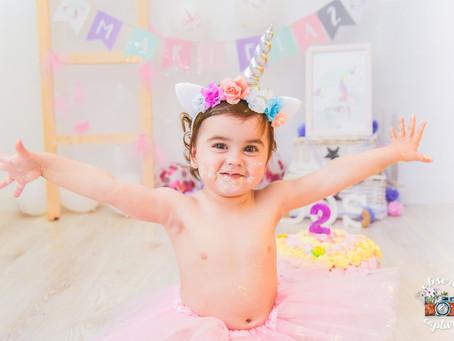 ¡Feliz segundo cumpleaños Mariela! | smash Cake