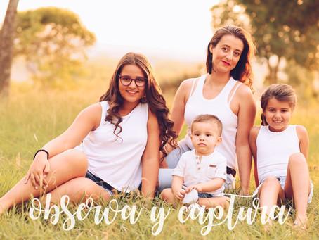La familia es maravillosa | sesión Familiar
