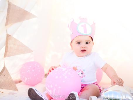 Mariela cumple 1 año
