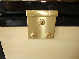 solid brass hardware