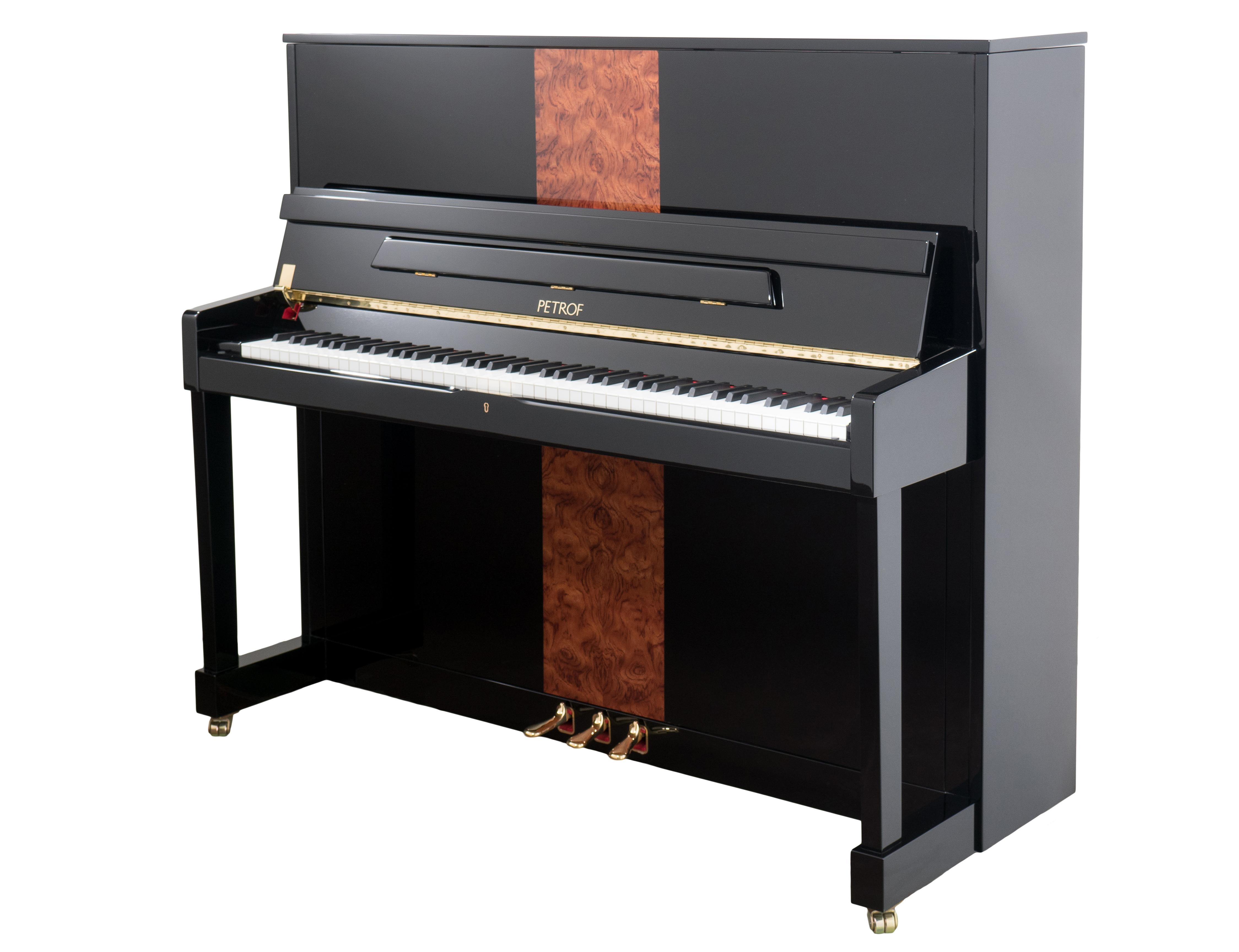 "P 125 M1 Bubinga Upright Piano 48"""