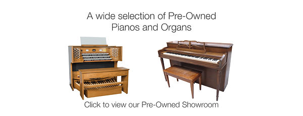 pre owned pianos and organs for sale