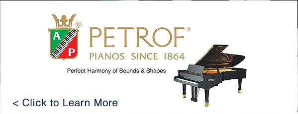 Petrof Piano brand