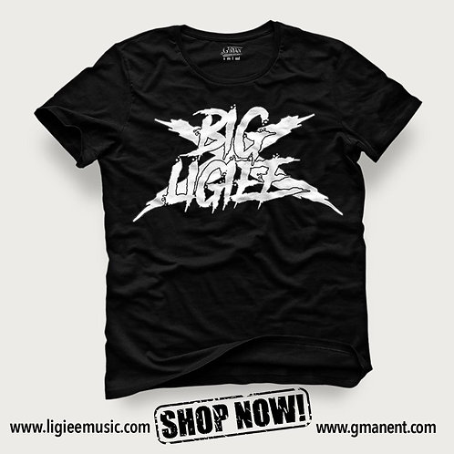 Big Ligiee T-Shirt Black