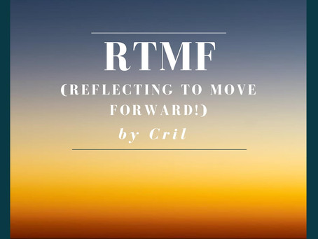 New Music from Cril - RTMF (Reflecting To Move Forward)