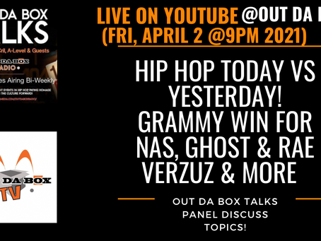 Out Da Box Talks Panel LIVE Tonight!