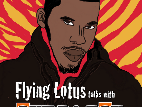 Out Da Box Radio – Flying Lotus Interview