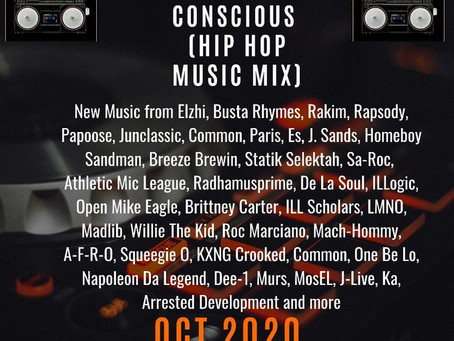 Creative and Conscious Hip Hop Music Mix (Oct 2020)