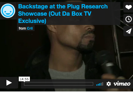 Plug Research CMJ Show with Backstage Interviews