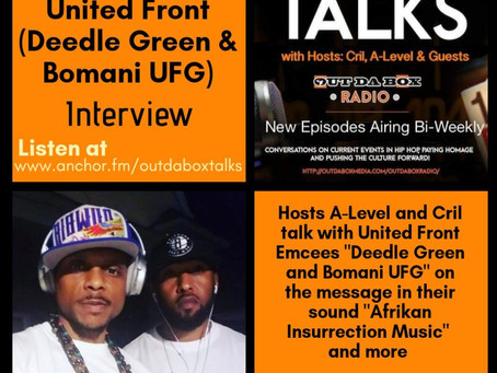 Out Da Box Talks Episode 26 (United Front Interview)