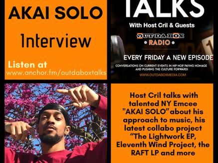 Out Da Box Talks Episode 67 - AKAI SOLO Interview