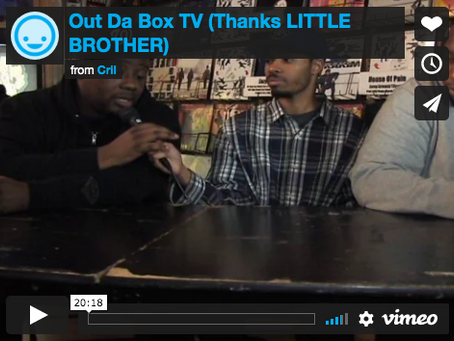 Out Da Box TV (Little Brother Interview)