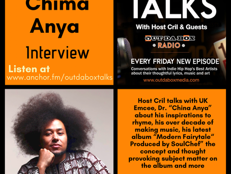 Out Da Box Talks Episode 91 - Chima Anya Interview