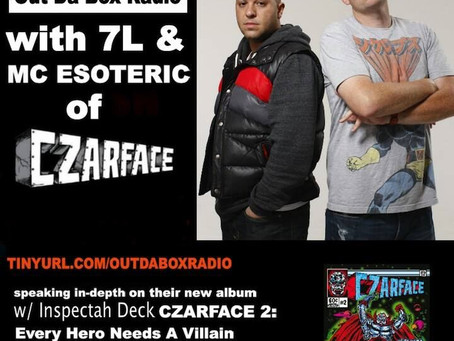 7L and Esoteric of Czarface Interview