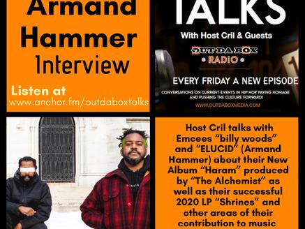 Out Da Box Talks Episode 65 - Armand Hammer Interview