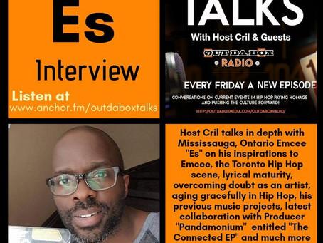 Out Da Box Talks Episode 44 (Es Interview)