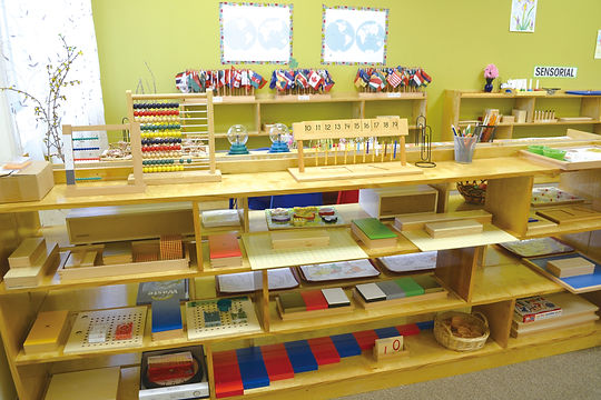 Splendor Montessori classroom