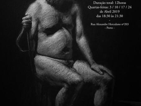 Workshop: Iniciação ao Desenho de Figura-Humana c/modelo