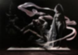 Oposições em Luz e Sombra 170x240cm óleo sobre tela 2018