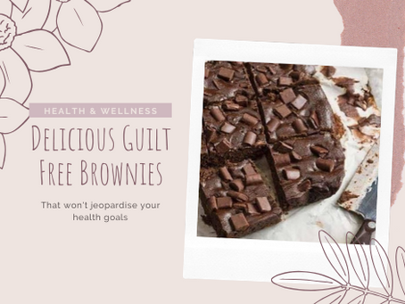 Delicious Guilt-Free Brownies