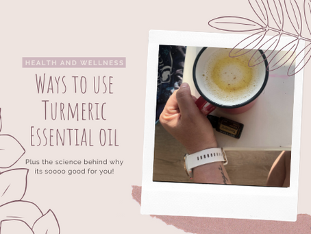 Ways to use turmeric essential oil