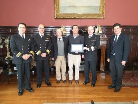 Premio Anual Nacional a Entidad de Capacitación Náutica PDV 2019