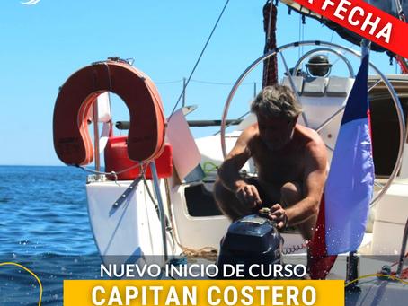 CAMBIO DE FECHA CURSO CAPITÁN COSTERO - MAYO 2021