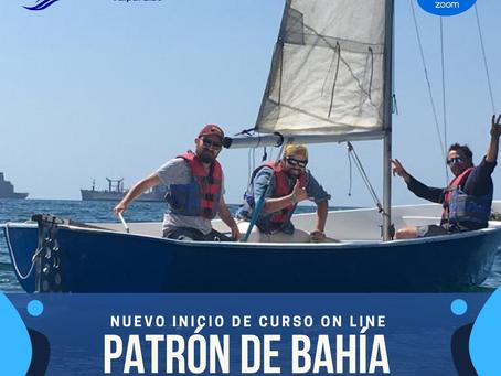 7 DE JULIO - NUEVO INICIO DE CURSO PATRÓN DEPORTIVO DE BAHÍA
