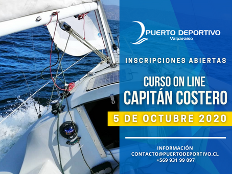 2° Curso Capitán Costero Online