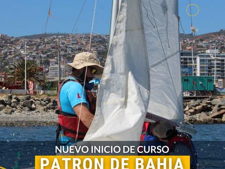 CURSO PATRÓN DE BAHÍA - 8 DE JUNIO 2021